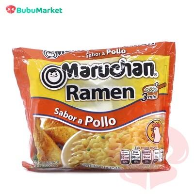 RAMEN SOPA INSTANTANEA MARUCHAN SABOR POLLO BOLSA DE 85 GR.