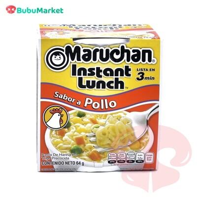 SOPA INSTANTANEA MARUCHAN INSTANT LUNCH  SABOR A POLLO VASO DE 64 GR.