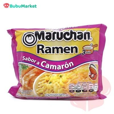 RAMEN SOPA INSTANTANEA MARUCHAN SABOR CAMARON BOLSA DE 85 GR.
