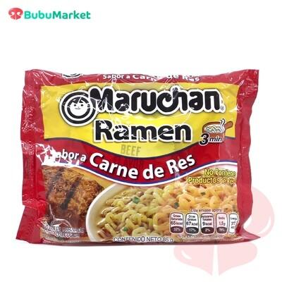 RAMEN SOPA INSTANTANEA MARUCHAN SABOR CARNE DE RES BOLSA DE 85 GR.