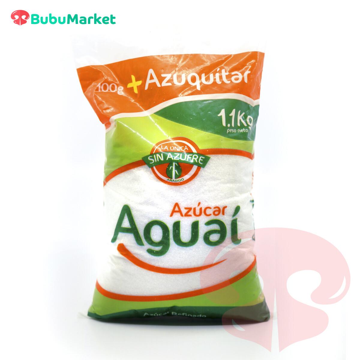 AZUCAR BLANCA AGUAI BOLSA DE 1 K.