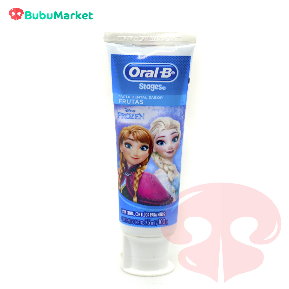 PASTA DENTAL PARA NIÑOS ORAL B STAGES FROZEN DE 75 ML.