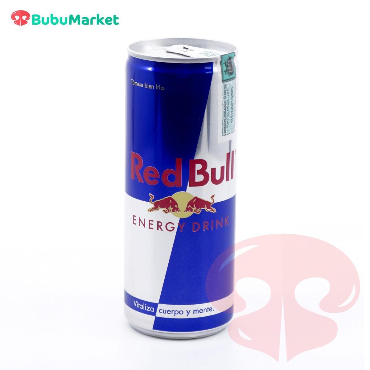 ENERGIZANTE RED BULL DE 250 ML.