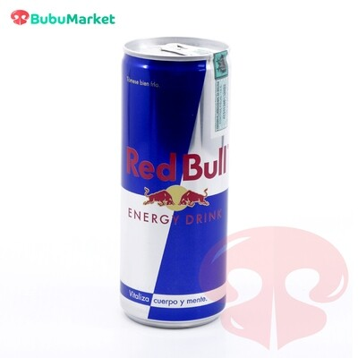 ENERGIZANTE RED BULL DE 250 ML.
