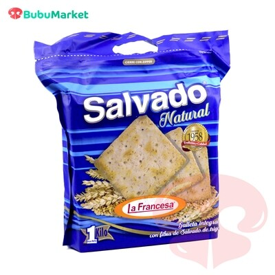 GALLETAS SALVADO NATURAL LA FRANCESA PAQUETE DE 1 KILO