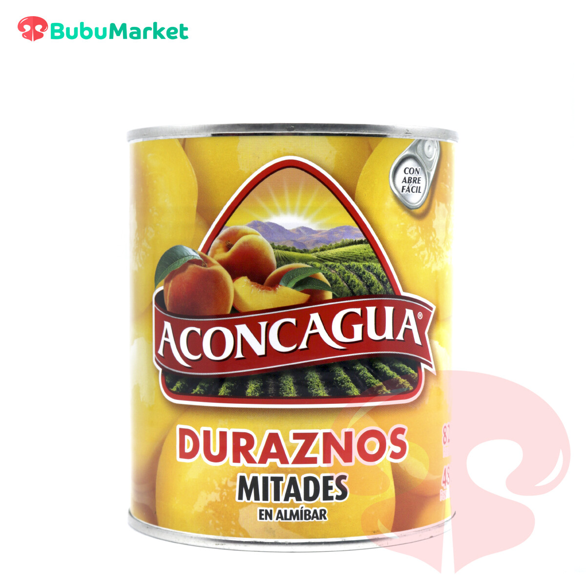 DURAZNOS AL JUGO EN MITADES ACONCAGUA DE 820 GR.