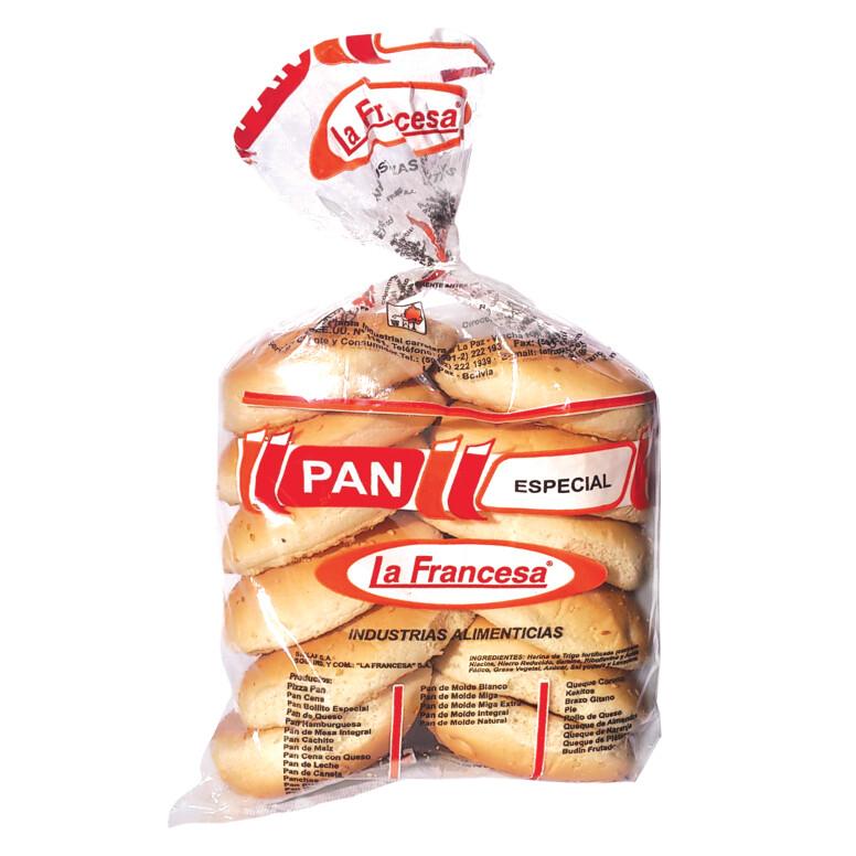 PAN CON QUESO LA FRANCESA BOLSA