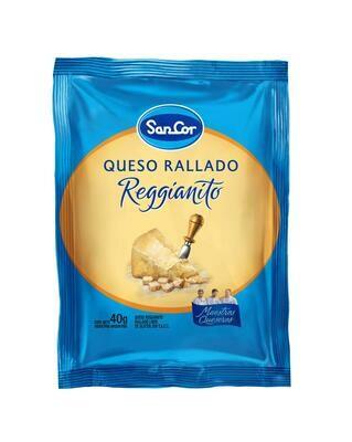 QUESO RALLADO REGGIANITOS SANCOR DE 40 GR.