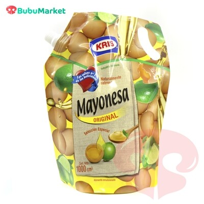 MAYONESA ORIGINAL KRIS DOYPACK DE 1000 ML.