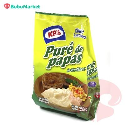PURE DE PAPAS INSTANTANEO KRIS BOLSA DE 250 GR.