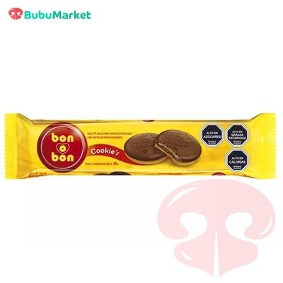 BON O BON COOKIES GALLETA DULCE Y CHOCOLATE RELLENO CON PASTA DE MANI ARCOR 95 GR.