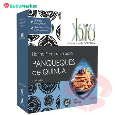 HARINA PREMEZCLA BIO XXI PARA PANQUEQUES DE QUINUA 250 GR.
