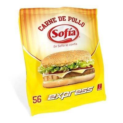 HAMBURGUESA DE POLLO EXPRESS SOFIA 56 GR.