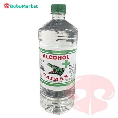 ALCOHOL CAIMAN 70% BOTELLA DE 1 L.