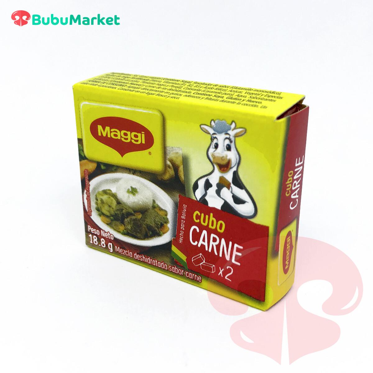 CUBITO MAGGI DE CARNE 18,8 GR.