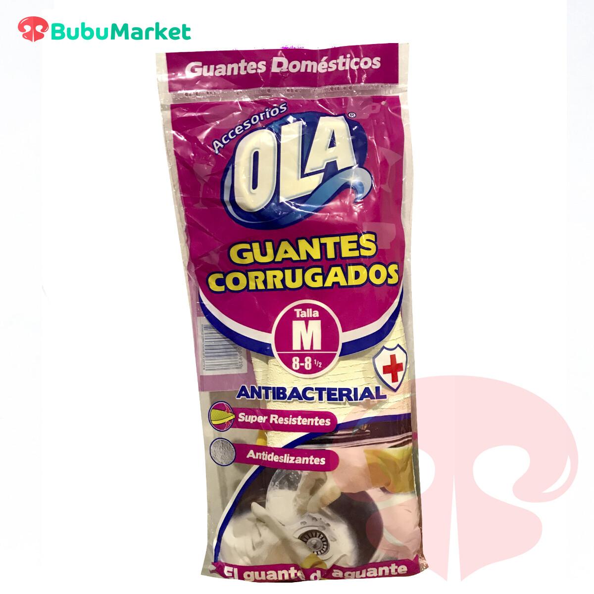 GUANTES CORRUGADOS OLA TALLA M (8-8y1/2)