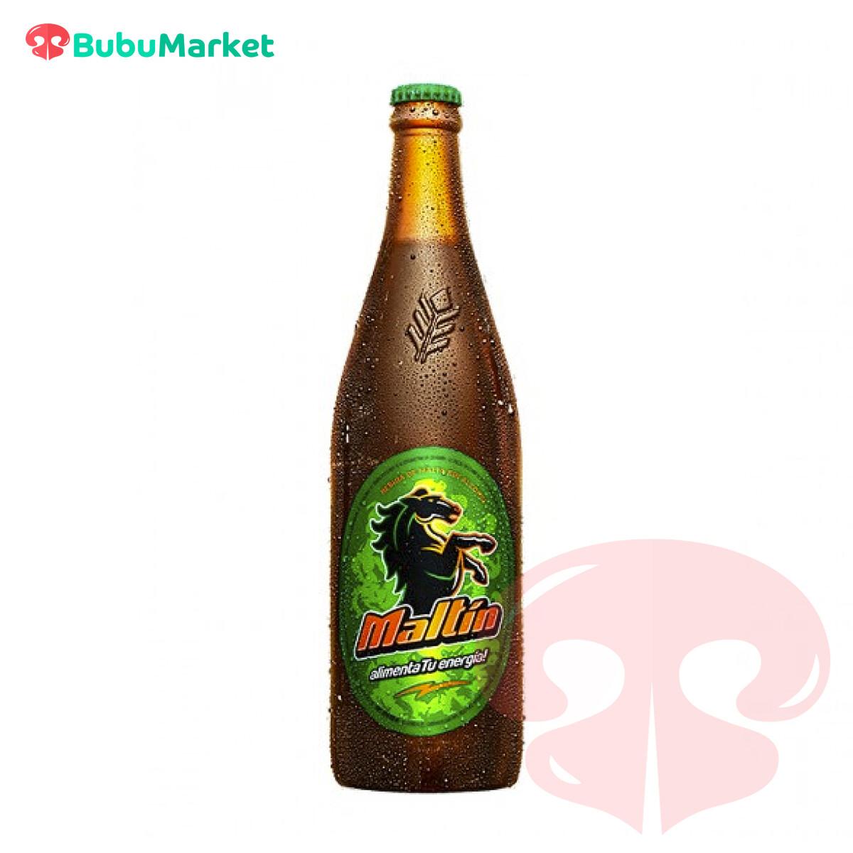 MALTIN MALTA SIN ALCOHOL BOTELLA 620 ML.