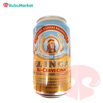 BICERVECINA EL INCA EN LATA 354 CC.