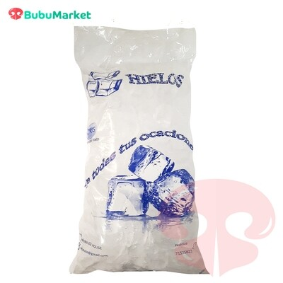 HIELO 1 BOLSA DE 2 K.
