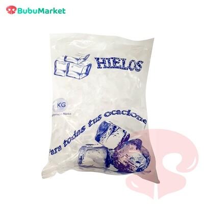 HIELO 1 BOLSA DE 1 K.