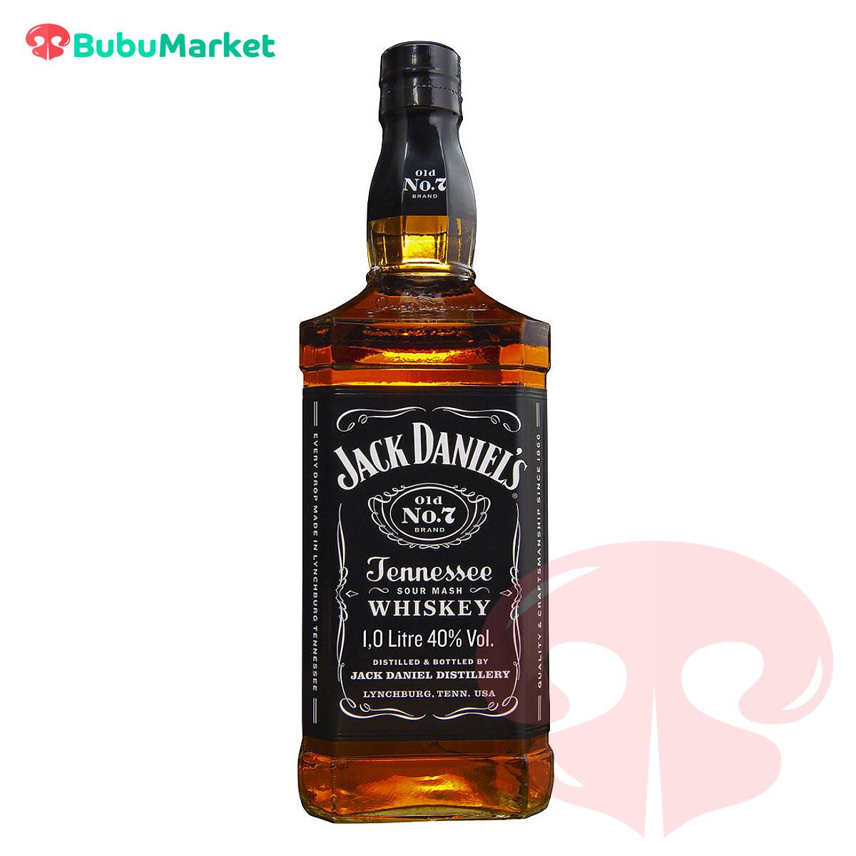WHISKY JACK DANIELS OLD No. 7 DE 1 LITRO