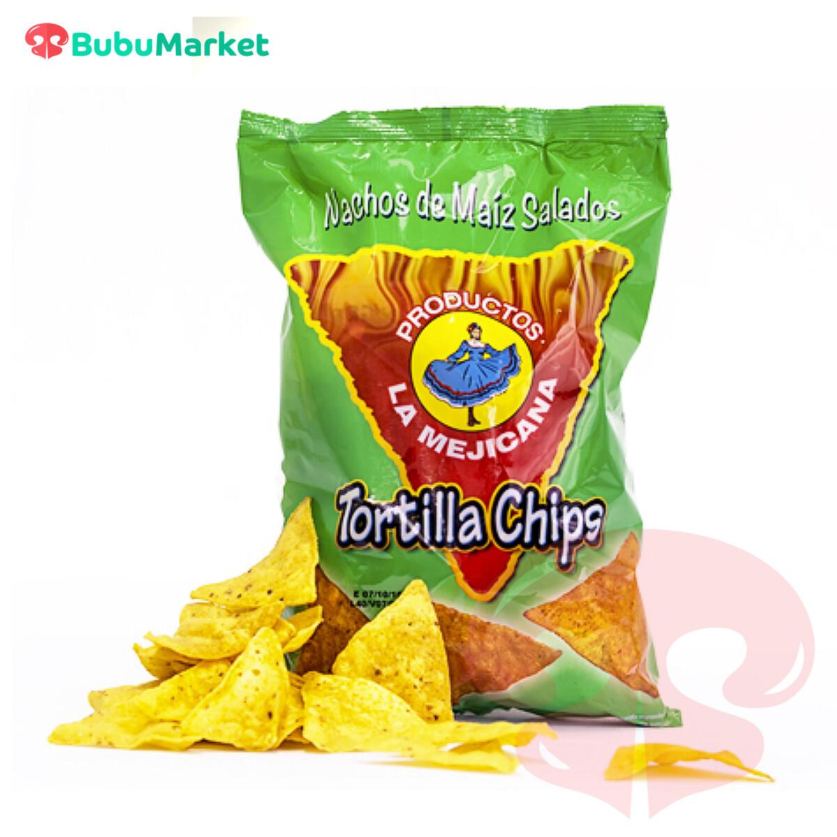 TORTILLA CHIPS SALADOS LA MEJICANA 200 GR.