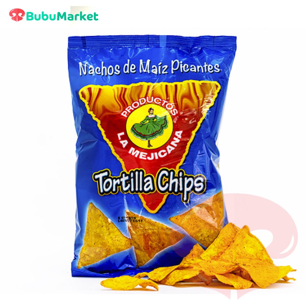 TORTILLA CHIPS PICANTES LA MEJICANA 200 GR.