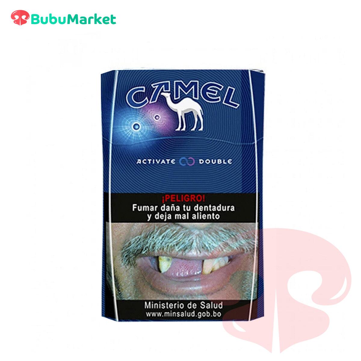 CIGARRILLOS CAMEL ACTIVATE DOUBLE CAJA DE 20 U.
