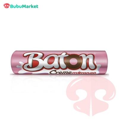CHOCOLATES BATON CREME MORANGO EN BARRA