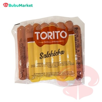 SALCHICHA SIN PIEL TORITO 15 U.