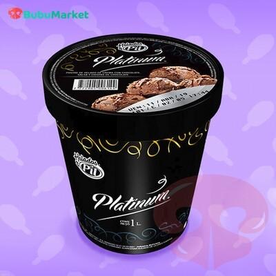 HELADO PIL POSTRE PLATINUM CHOCOLATE 1 L.