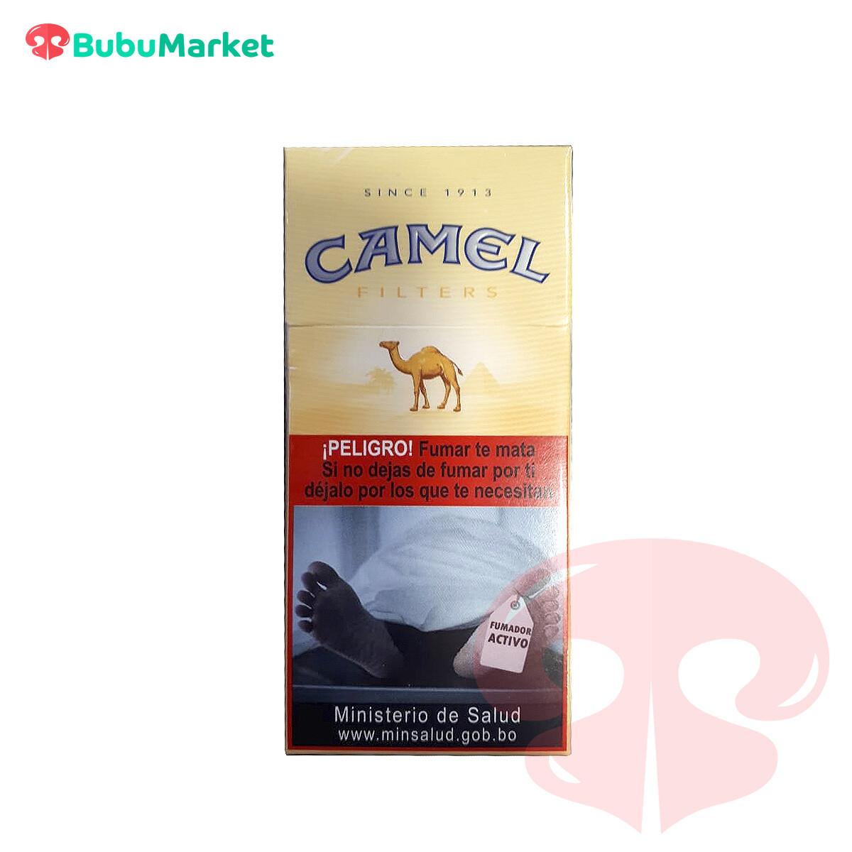 CIGARRILLOS CAMEL AMARILLO CAJA DE 10 U.