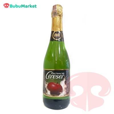 SIDRA CERESER MANZANA 660 ML.