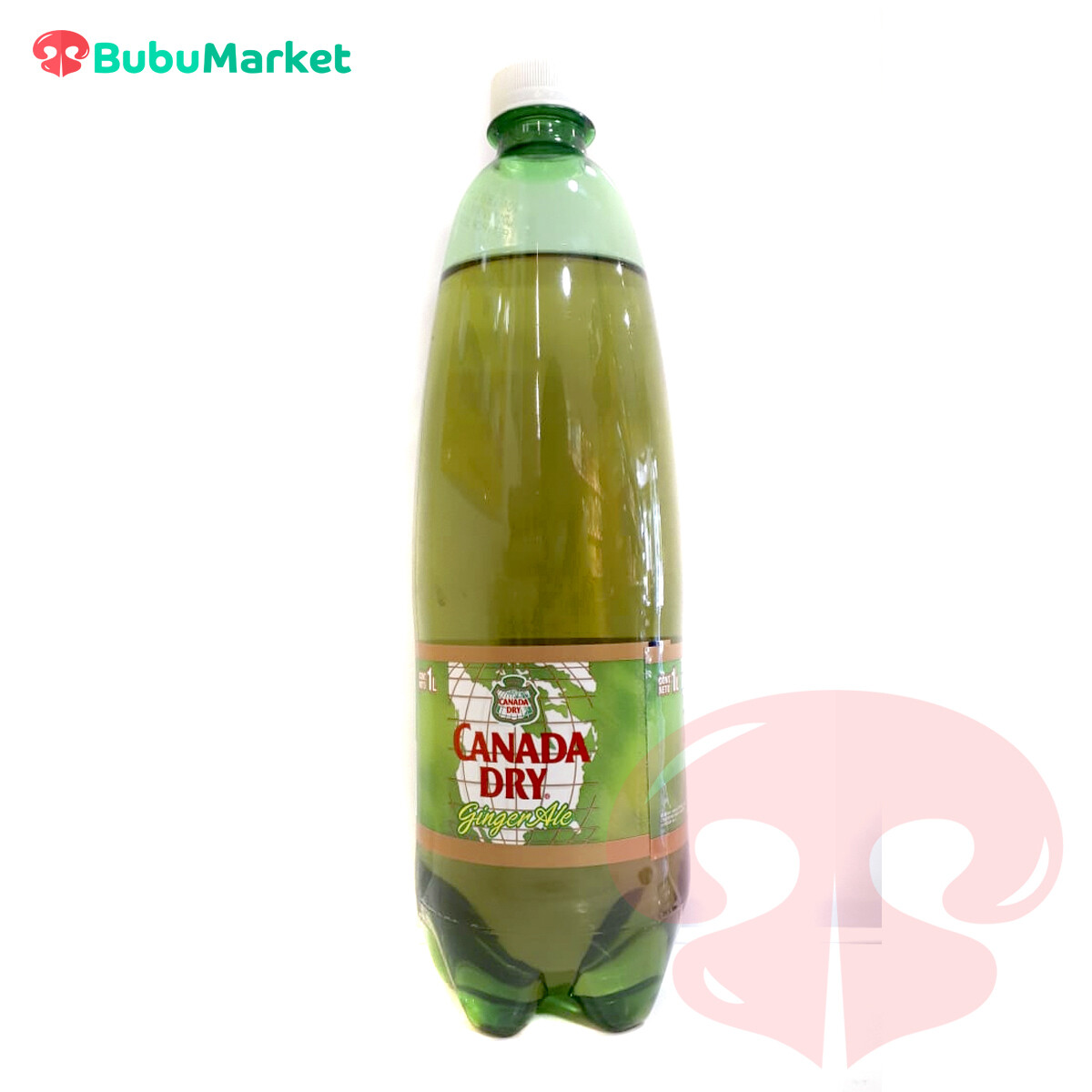 CANADA DRY GINGER ALE 1 L.