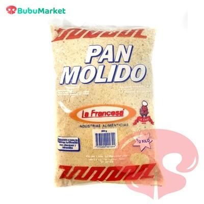 PAN MOLIDO LA FRANCESA 500 GR.