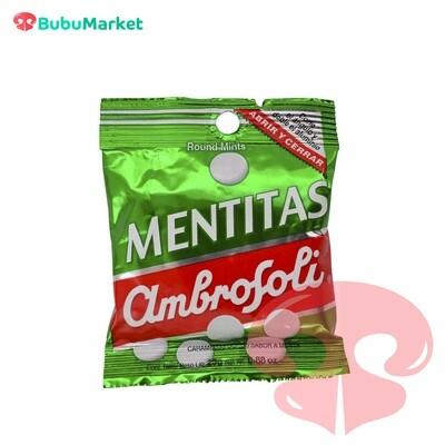 CARAMELO MENTITAS AMBROSOLI 21 GR.