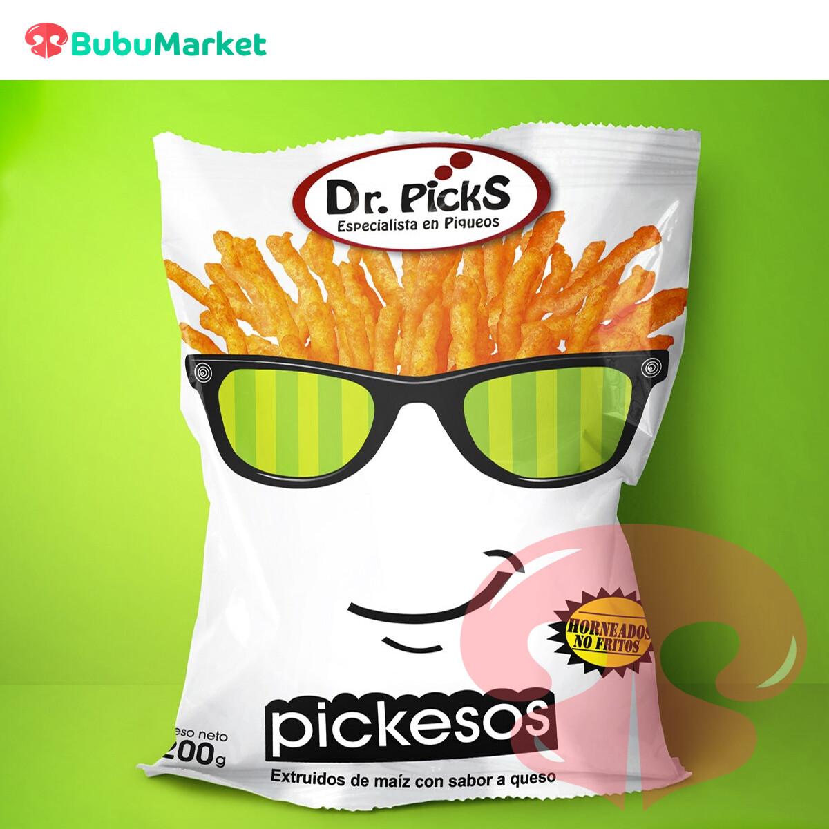 DR. PICKS PICKESOS  QUESO BOLSA 200 GR.