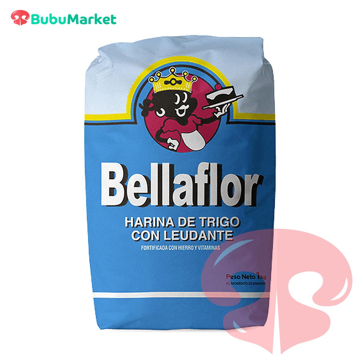 HARINA DE TRIGO CON LEUDANTE BELLAFLOR  1 K.