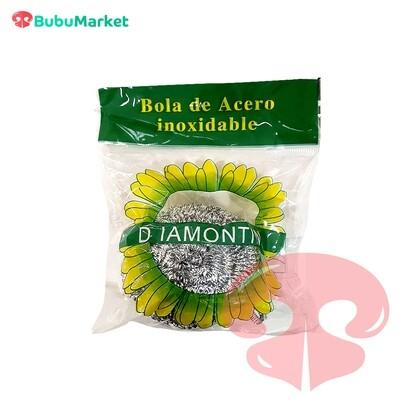 ESPONJA METALICA DE COCINA DIAMONTIN