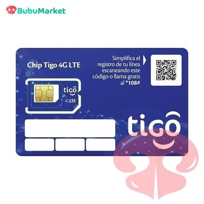 CHIP 4G LTE TIGO