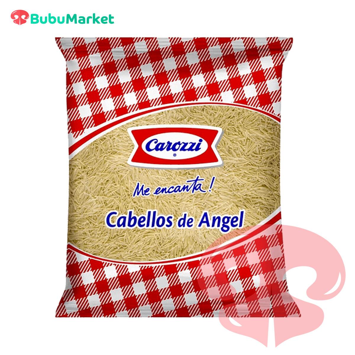 FIDEOS CAROZZI CABELLOS DE ANGEL BOLSA DE 400 GR.