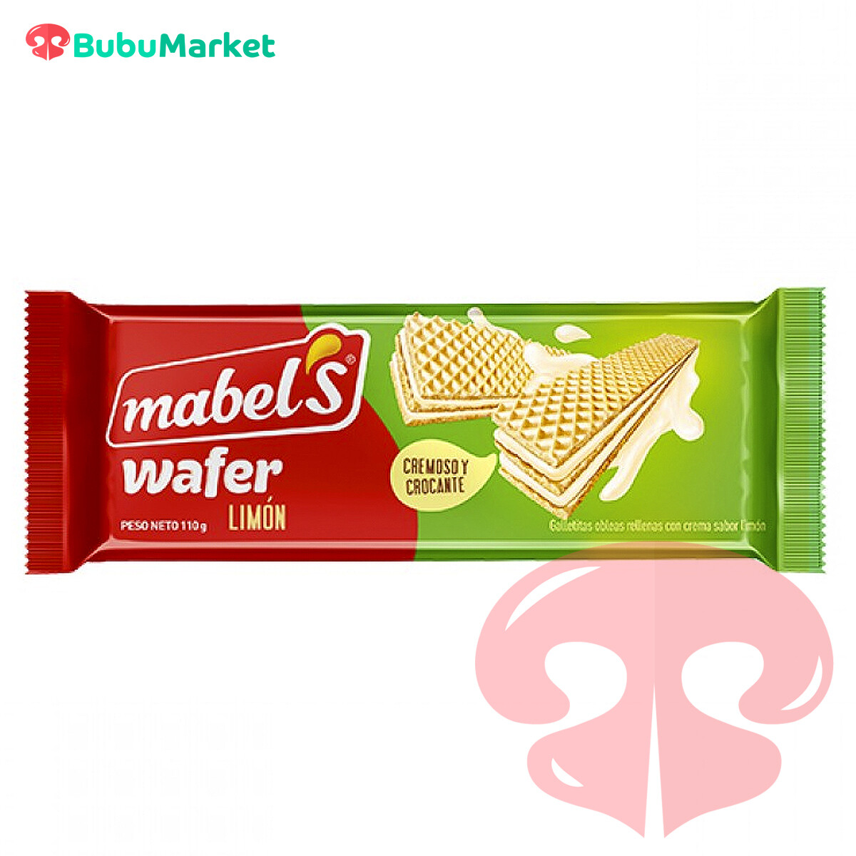 GALLETA WAFER MABEL LIMON  110 GR.