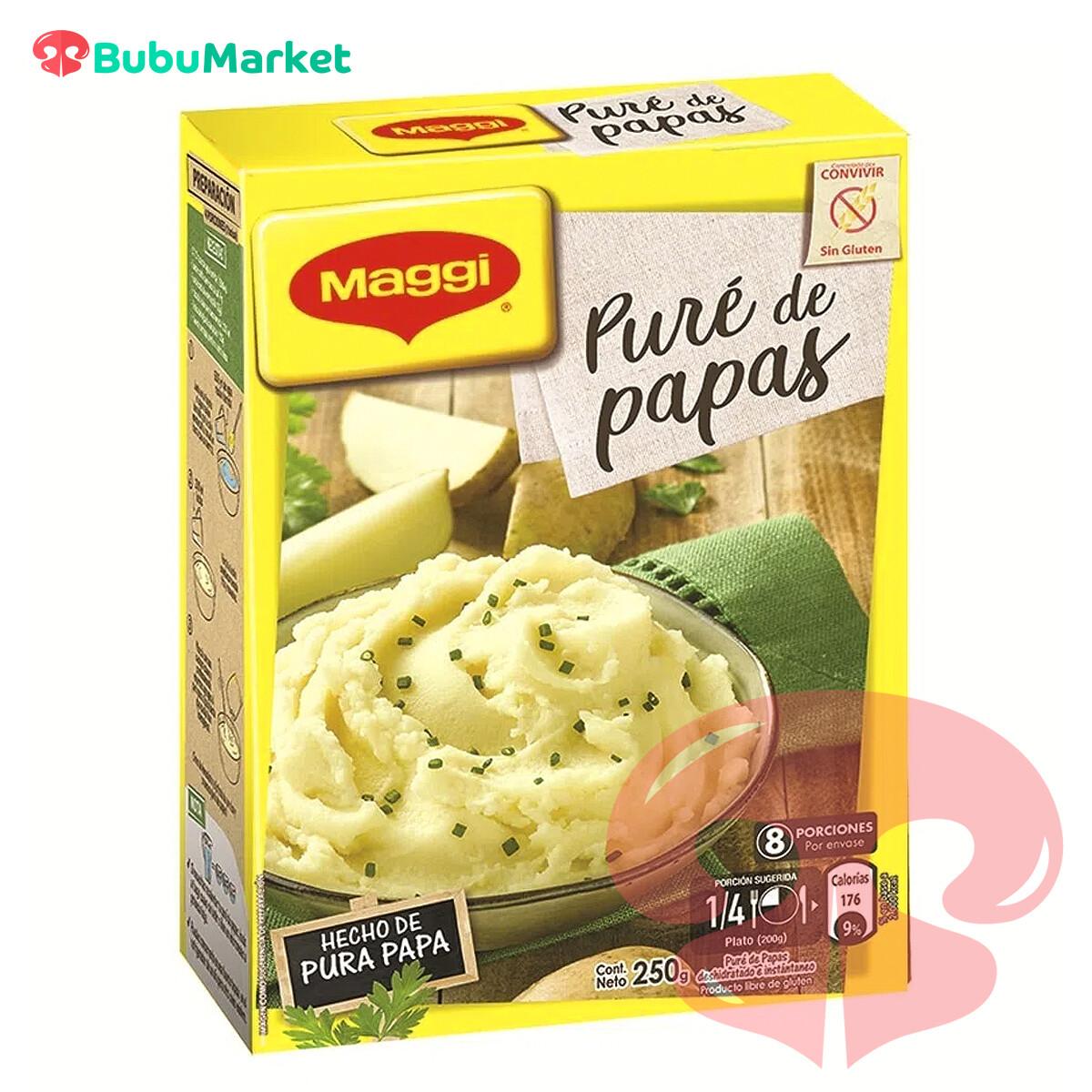 PURE DE PAPAS MAGGI CAJA DE 250 GR.