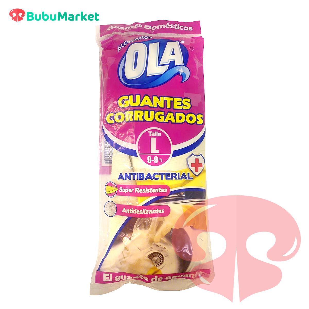 GUANTES CORRUGADOS OLA TALLA L (9-9y1/2)