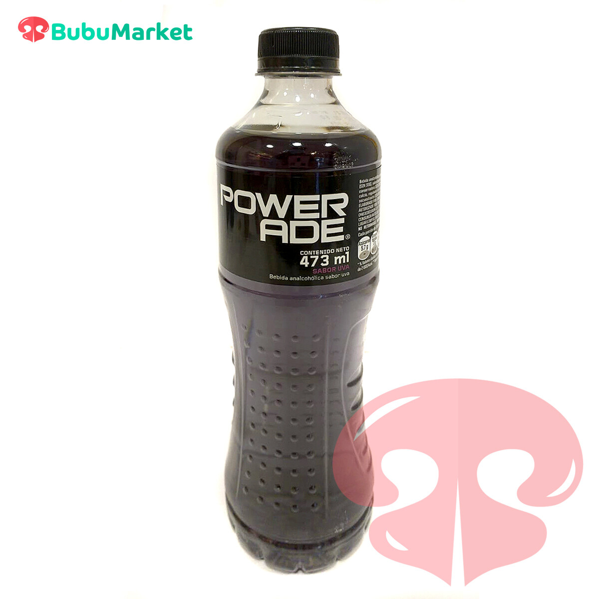 POWERADE UVA AZUL BOTELLA DE 473 ML.