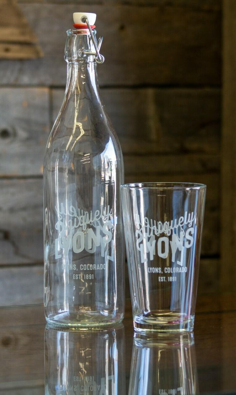Uniquely Lyons Pint Glass