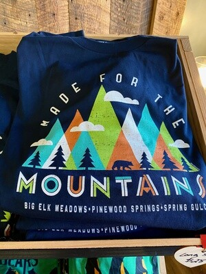 Made for the Mountains Long Sleeve (Deep Blue)