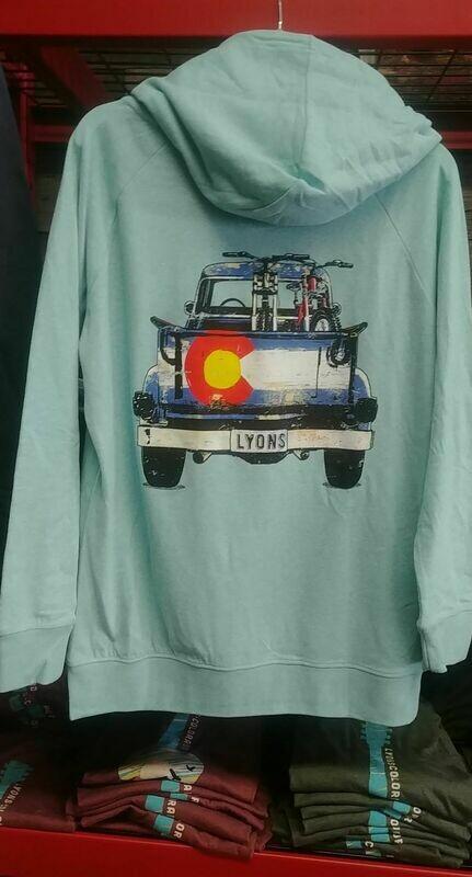 Lyons Truck Aqua Hoodie