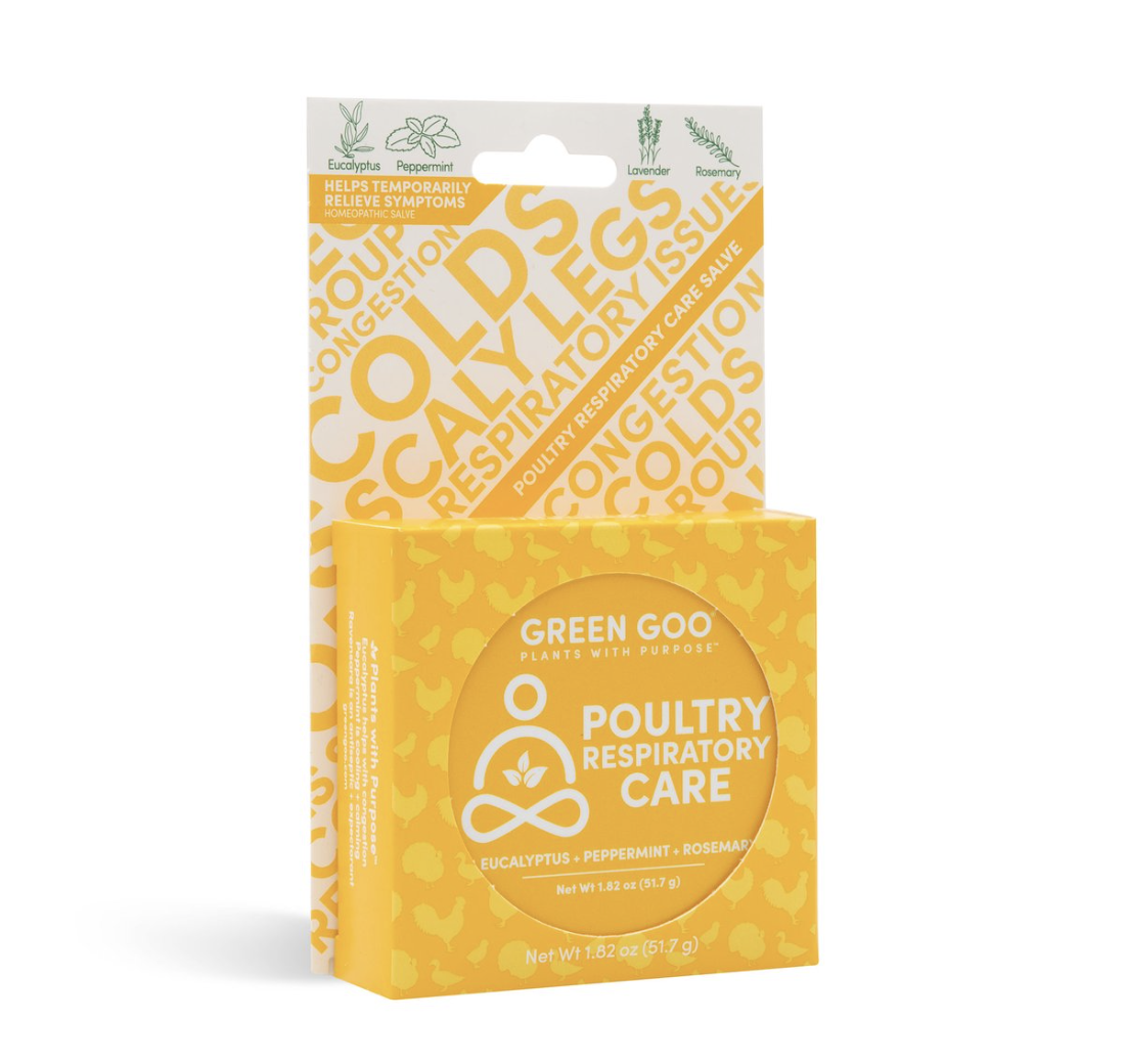 Poultry Respitory Care Large 1.82 oz tin