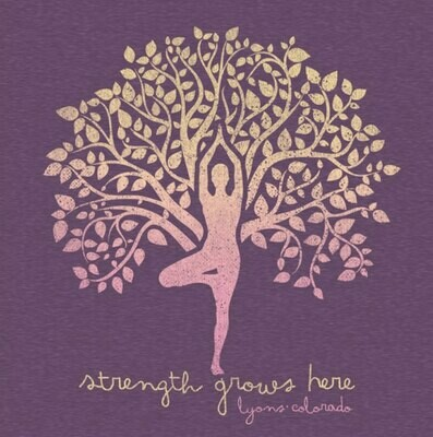 Strength Grows Here Woman's Short Sleeve